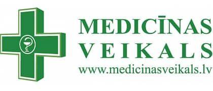 Jūrmalas medicīnas preču veikals (Jūrmalas slimnīcā un Kauguru veselības centrā) logo
